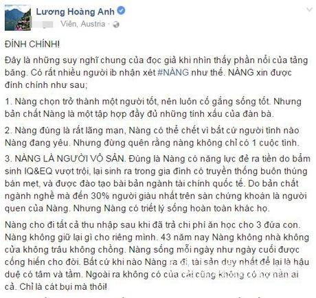 Sau khi ly hon, vo cu Huy Khanh dua ra tieu chi tuyen nguoi yeu cao 'chot vot' - Anh 1