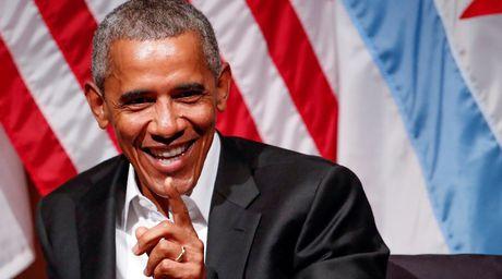 Cuu Tong thong Obama duoc vinh danh muon doi trong su sach - Anh 1