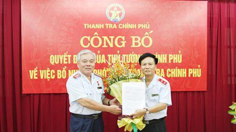 Ong Bui Ngoc Lam giu chuc Pho tong Thanh tra Chinh phu - Anh 1