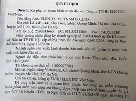 Mot cong ty tai Me Linh bi xu phat 30 trieu vi vi pham ban quyen tac gia - Anh 1