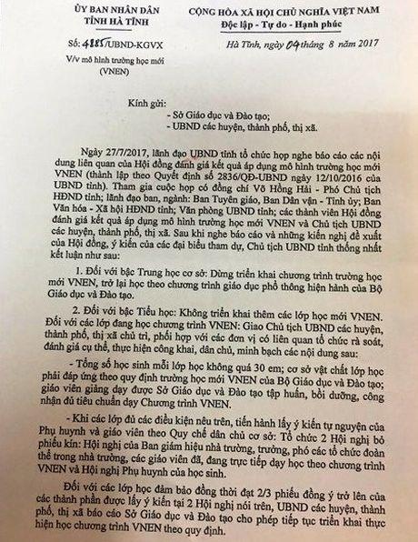 Ban khoan dung trien khai chuong trinh VNEN o bac THCS - Anh 2