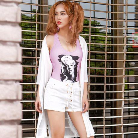 Street style dang hoc hoi cua sao Viet tuan qua - Anh 5