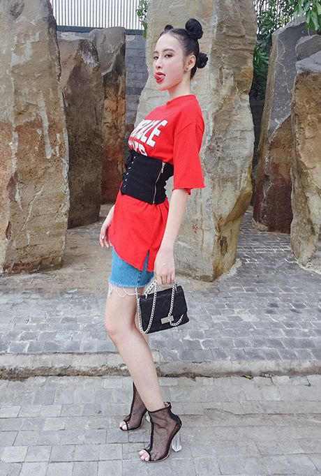 Street style dang hoc hoi cua sao Viet tuan qua - Anh 6