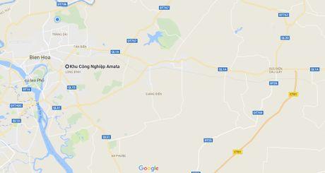 Nguoi ban hang online bi 2 thanh nien dam, cuop trong khu cong nghiep - Anh 1
