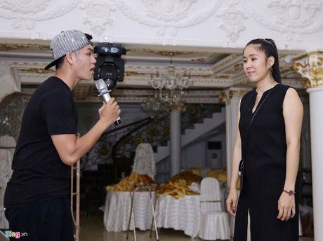 Le Phuong va chong tap hat cho le cuoi o Tra Vinh - Anh 2