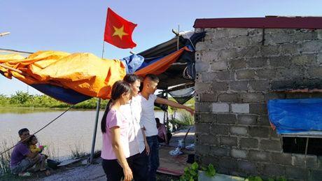 Con do Hai Phong na sung vao dam tom o Tien Lang - Anh 1