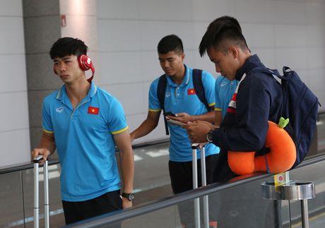 U22 Viet Nam bi 'hanh xac' truoc them SEA Games - Anh 1