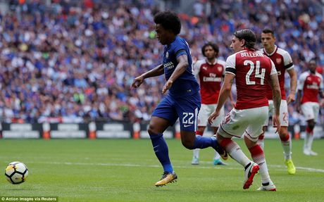 Toan canh: Chelsea tu ban vao chan, Arsenal vo dich Community Shield - Anh 6