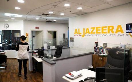 Israel dong cua co quan dai dien cua kenh truyen hinh Al-Jazeera - Anh 1