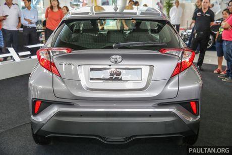 Toyota C-HR chinh thuc lo dien tai Malaysia - Anh 10