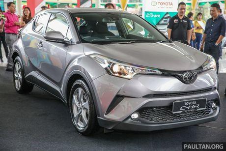 Toyota C-HR chinh thuc lo dien tai Malaysia - Anh 1