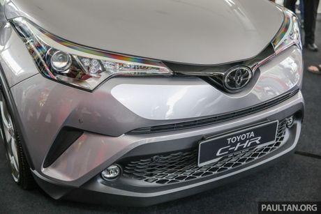 Toyota C-HR chinh thuc lo dien tai Malaysia - Anh 3