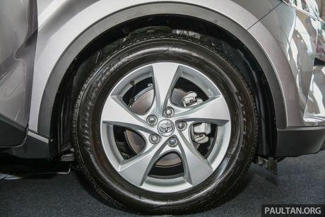 Toyota C-HR chinh thuc lo dien tai Malaysia - Anh 4