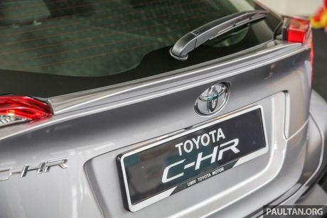 Toyota C-HR chinh thuc lo dien tai Malaysia - Anh 5