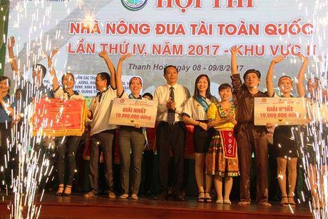 Nha nong dua tai 2017 khu vuc II: Thanh Hoa va Hai Phong 'dat tay' nhau vao vong trong - Anh 1