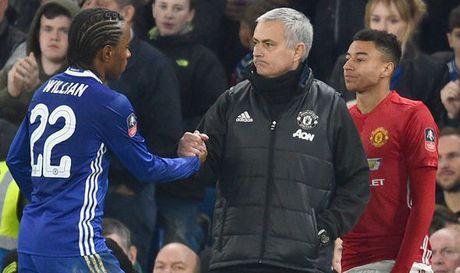 Chelsea khong ngan can kip thoi, Willian da theo chan Mourinho den MU - Anh 1