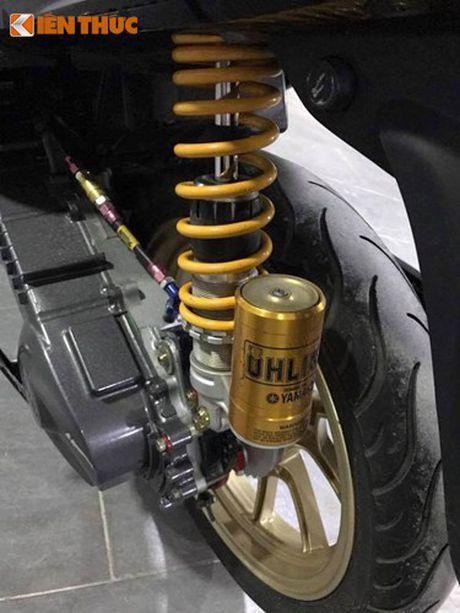 Soi xe ga Yamaha Mio 'do khung' cua dan choi Viet - Anh 5