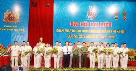 Dai hoi dai bieu Doan TNCS Ho Chi Minh Cong an TP Ha Noi lan thu 24 - Anh 1