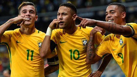 Brazil tro lai ngoi dau bang xep hang FIFA thang 8 - Anh 1