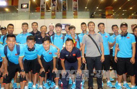 SEA Games 29: Doi tuyen U22 Viet Nam co mat tai Malaysia - Anh 1