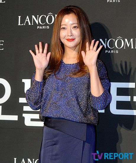 Kim Hee Sun mat diem vi mat cang tron, bong nhay - Anh 2