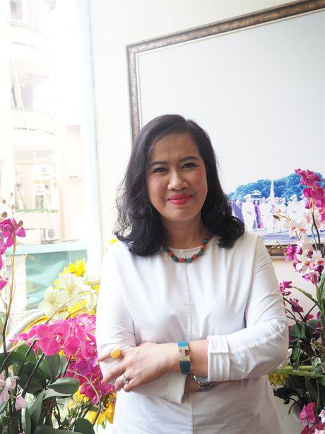 Nha van Nguyen Thi Thu Hue lam Chu tich hoi Nha van Ha Noi - Anh 1