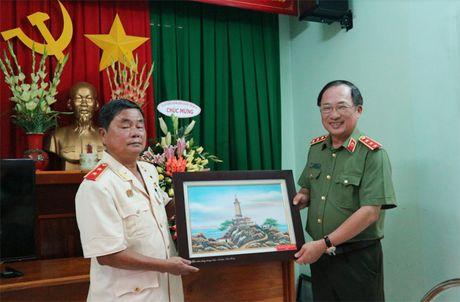 Khanh thanh phong tuong niem co Bo truong Bui Thien Ngo - Anh 3