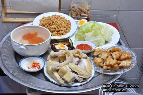 Me Ha Noi dinh cu o Sai Gon khoe mam com ai nhin cung phai chu y bat nuoc cham - Anh 10