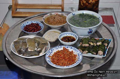 Me Ha Noi dinh cu o Sai Gon khoe mam com ai nhin cung phai chu y bat nuoc cham - Anh 1