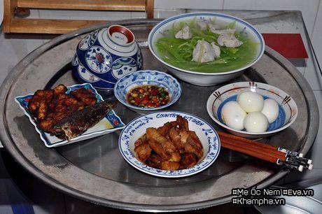 Me Ha Noi dinh cu o Sai Gon khoe mam com ai nhin cung phai chu y bat nuoc cham - Anh 2