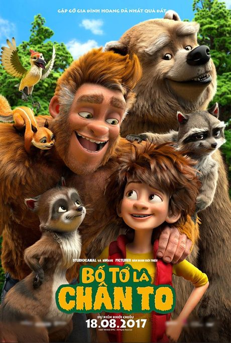 'Bo to la chan to': Phim hoat hinh danh cho ca gia dinh vao thang 8 - Anh 6