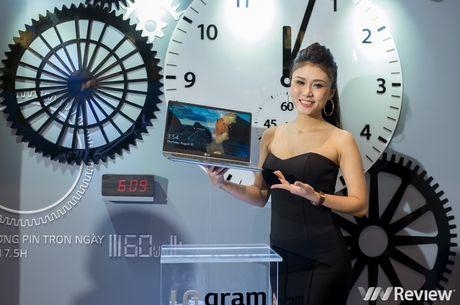LG chinh thuc gia nhap thi truong laptop Viet nam voi dong LG gram mong nhe - Anh 17