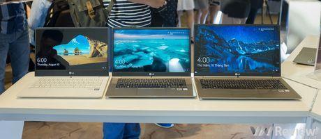 LG chinh thuc gia nhap thi truong laptop Viet nam voi dong LG gram mong nhe - Anh 1