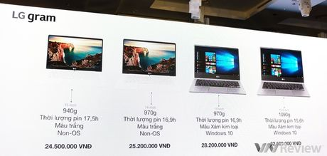 LG chinh thuc gia nhap thi truong laptop Viet nam voi dong LG gram mong nhe - Anh 2