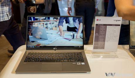 LG chinh thuc gia nhap thi truong laptop Viet nam voi dong LG gram mong nhe - Anh 4