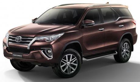 Toyota Fortuner them ban cap nhat tai Thai Lan, gia hon 1 ty dong - Anh 1