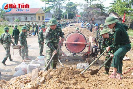 Lan toa phong trao hoc va lam theo Bac o Bo doi Bien phong Ha Tinh - Anh 2