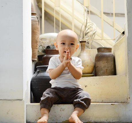 10 thang tuoi, con trai thu hai cua Ngo Quang Hai van chua co toc - Anh 5
