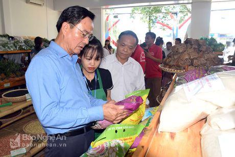 Gian hang nong san sach Xanh Mart Vinh 'hut' khach - Anh 5
