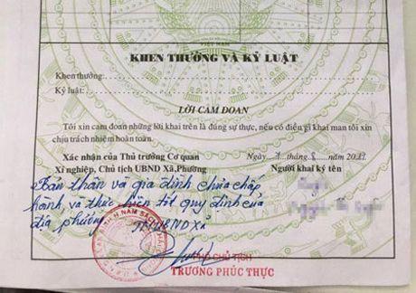 Xac dinh tham quyen cua UBND phuong, xa trong 'but phe' ly lich - Anh 1
