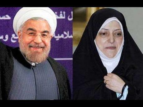 Iran bo nhiem 2 nu pho tong thong cung luc - Anh 1