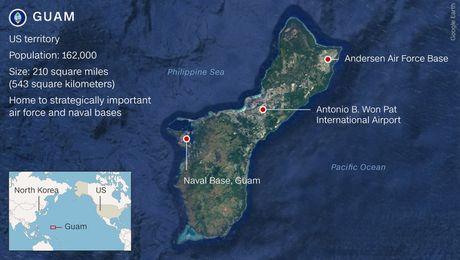 Trieu Tien tan cong dao Guam: Can ke bung no? - Anh 1