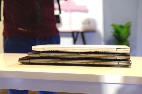 Can canh laptop LG Gram nhe nhat the gioi, pin dung 17,5 tieng vua ra mat tai Viet Nam - Anh 2