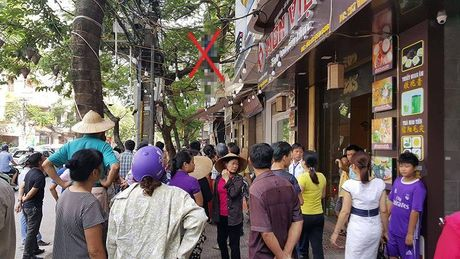 Nguoi Han Quoc treo co tu vong tren pho Hai Phong - Anh 1