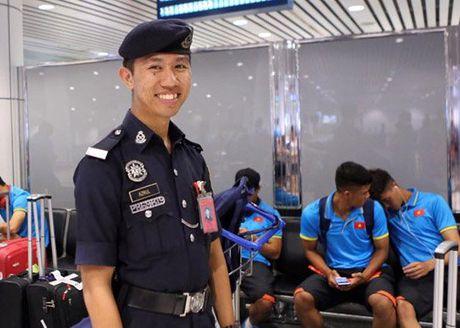 U22 Viet Nam do bo Malaysia, o khach san hang sang - Anh 1