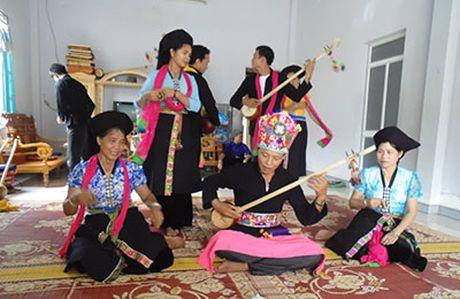 Giu gin, phat huy ban sac van hoa dan toc Thai o Muong Cang (Lai Chau) - Anh 1