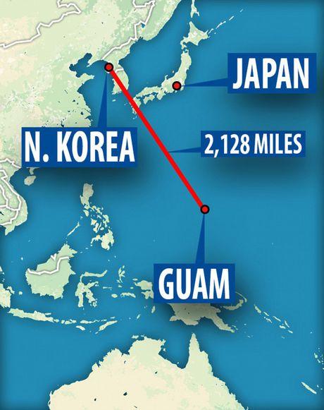 Kham pha dao quan su Guam cua My dang bi Trieu Tien cho vao tam ngam - Anh 2