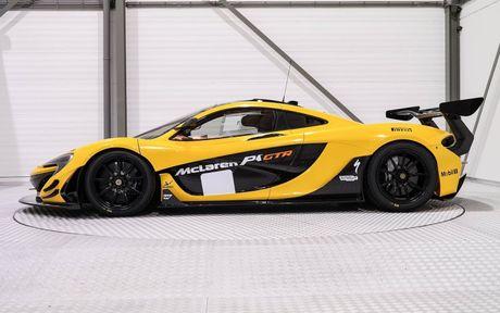 Phien ban McLaren P1 GTR vang den gia 3,3 trieu do - Anh 2