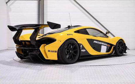 Phien ban McLaren P1 GTR vang den gia 3,3 trieu do - Anh 3