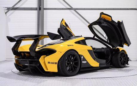 Phien ban McLaren P1 GTR vang den gia 3,3 trieu do - Anh 4
